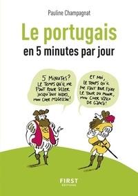 Pauline Champagnat - Le portugais en 5 minutes par jour.