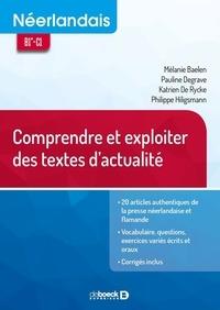 Pauline Degrave et Mélanie Baelen - Néerlandais - Comprendre et exploiter des textes d'actualité.
