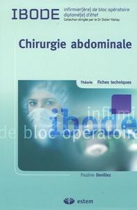 Pauline Dovillez - Chirurgie abdominale.