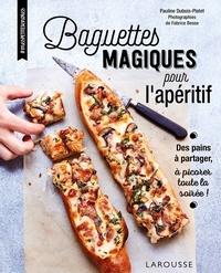 Pauline Dubois - Baguettes magiques pour l'apéritif.