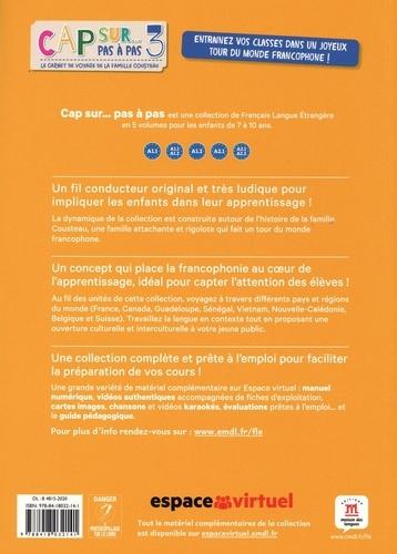 Méthode de français Cap sur... 3. Le carnet de voyage de la famille Cousteau  avec 1 CD audio