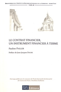 Le contrat financier, un instrument financier à terme.pdf