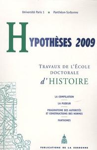Pauline Schmitt Pantel - Hypothèses 2009 - Travaux de l'Ecole doctorale d'histoire de l'université Paris I Panthéon-Sorbonne.