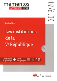 Pauline Türk - Les institutions de la Ve République.