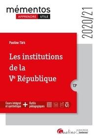 Pauline Türk - Les institutions de la Ve République.