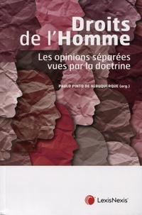 Paulo Pinto de Albuquerque - Droits de l'Homme - Les opinions séparées vues par la doctrine.