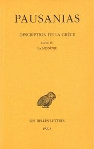 Pausanias - Description de la Grèce - Tome 4, Livre IV, la Messénie.