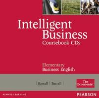 Longman - Intelligent Business Elementary Class Audio CDs.