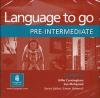 Longman group - LANGUAGE TO GO PRE INTERMEDIATE CLASS AUDIO CD.