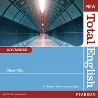 J. J. Wilson et Antonia Clare - New Total English Advanced - Class Audio CD. 1 Cédérom