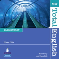Diane Hall - New Total English Elementary Class Audio CD.