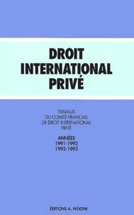 Travaux du Comité français de droit international privé - Années 1991-1993.pdf