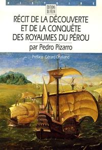 Deedr.fr Récit de la découverte et de la conquête des royaumes du Pérou Image