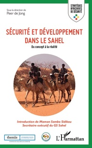 Peer de Jong - Sécurité et développement dans le Sahel - Du concept à la réalité.