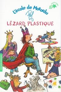 Pef - Lézard plastique - L'école de Motordu.