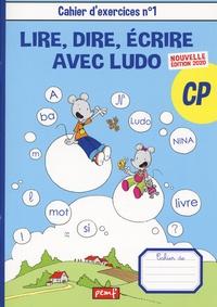PEMF - Lire, dire, écrire avec Ludo CP - Lot  2 cahiers d'exercices N°1 et 2.