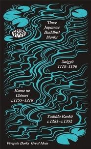 Penguin Books - Three japanese buddhist monks.