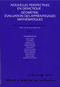 Sylvie Coppée et Eric Roditi - Nouvelles perspectives en didactique : géométrie, évaluation des apprentissages mathématiques.