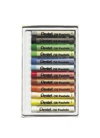 PENTEL - 12 pastels à l'huile