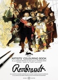Pepin Press - Rembrandt - 16 motifs à colorier.