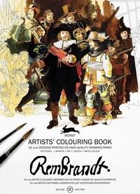 Pepin Press - Rembrandt - 16 motifs à colorier.