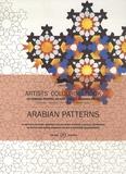 Pepin Van Roojen - Arabian patterns - 16 motifs à colorier, imprimés sur du papier à dessin de qualité supérieure.