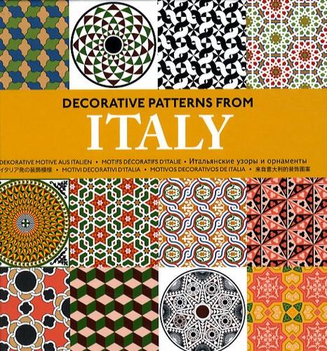 Pepin Van Roojen - Decorative patterns from Italy - Motifs décoratifs d'Italie. 1 Cédérom