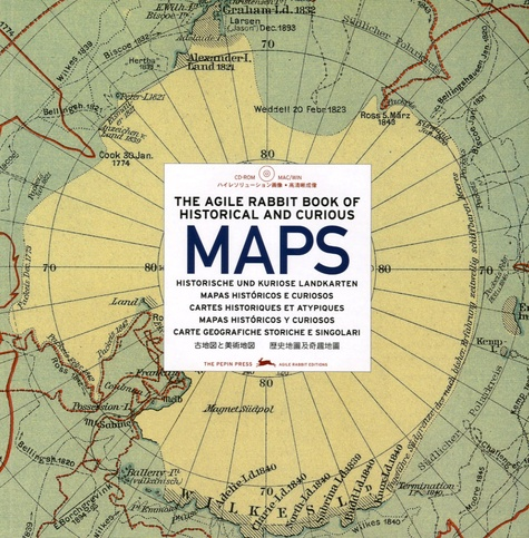 Pepin Van Roojen - Historical & Curious MapThe agile rabbit book of historical and curious maps. 1 Cédérom