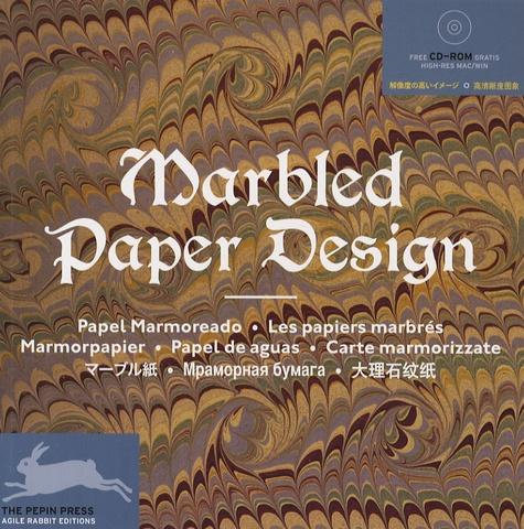 Pepin Van Roojen - Marbled Paper Design - Les papiers marbrés. 1 Cédérom
