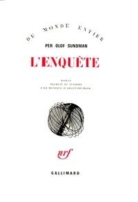 Per-Olof Sundman - L'Enquête.