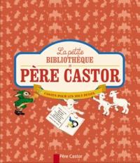 Père Castor - La petite bibliothèque du père Castor - Coffret 6 volumes : Trois petits cochons ; Blancheline ; La chèver et les biquets ; Les bons amis ; Petit chat perdu ; Petit Zèbre.