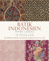 Papier cadeau batik indonésien - 12 feuilles de papier cadeau de haute qualité (45 x 61 cm).pdf