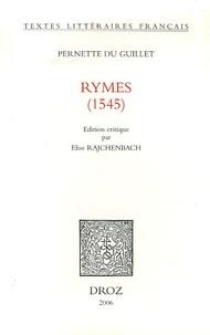 Pernette du Guillet - Rymes (1545).