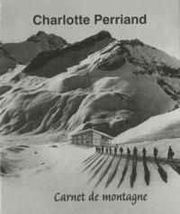 Pernette Perriand Barsac - Charlotte Perriand - Carnet de montagne.