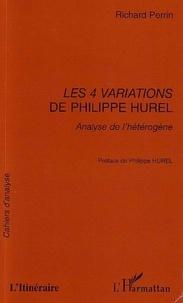 Perrin - Les 4 variations de Philippe Hurel : analyse de l'hétèrogène.