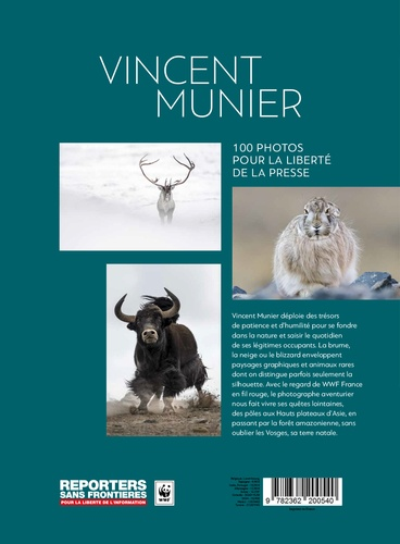 100 photos de Vincent Munier pour la liberté de la presse