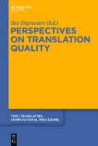 Perspectives on Translation Quality.