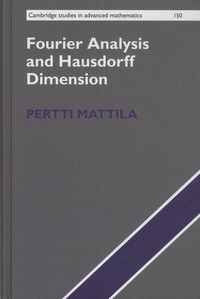 Pertti Mattila - Fourier Analysis and Hausdorff Dimension.