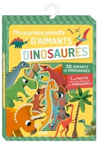 Peskimo - Ma première pochette d'aimants Dinosaures - Avec 30 aimants de dinosaures et 1 joli poster pour tout savoir sur les dinosaures.