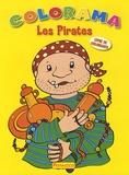 Pestalozzi - Les pirates - Livre de coloriages.