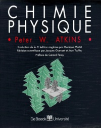 Peter Atkins - Chimie physique.