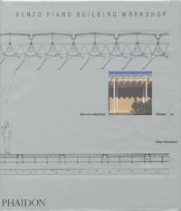 Peter Buchanan - Renzo Piano Building Workshop - Oeuvres complètes, volume 1.
