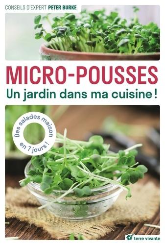 Micro-pousses. Un jardin dans ma cuisine !