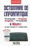 Peter Collin - Dictionnaire de l'informatique - Français/Anglais - Anglais/Français.