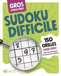 Peter de Schepper et Frank Coussement - Sudoku difficile - 150 grilles casse-cou !.