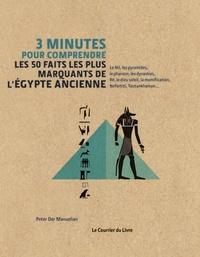 Peter Der Manuelian - 3 minutes pour comprendre les 50 faits les plus marquants de l'Egypte Ancienne.