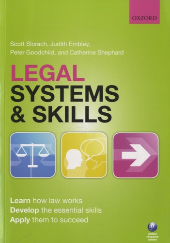 Peter Goodchild - Legal Systems and Skills.