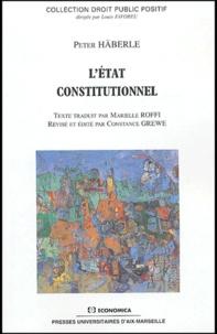 Peter Häberle - L'Etat constitutionnel.