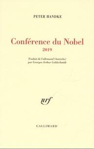 Peter Handke - Conférence du Nobel.