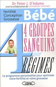 Histoiresdenlire.be Fertilité, conception, grossesse et bébé - 4 groupes sanguins, 4 régimes Image